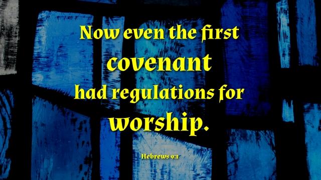 Hebrews 9_1