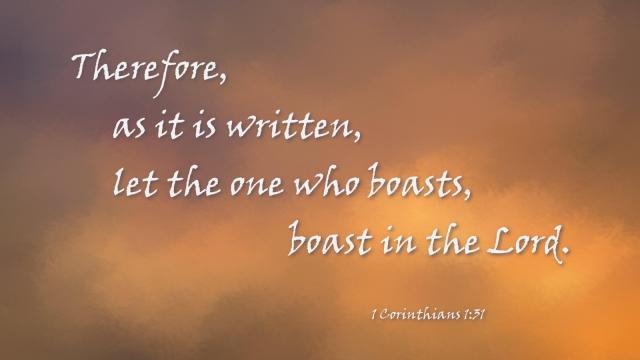 1 Corinthians 1_31