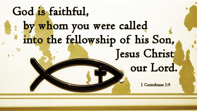 1 Corinthians 1_9